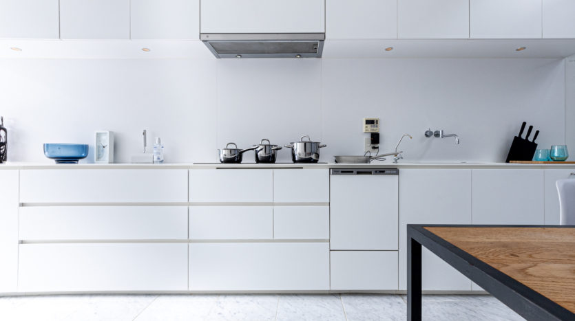 原宿の一軒家スタジオ 映えるキッチン&バスルーム|LAG SPACE Harajuku#2